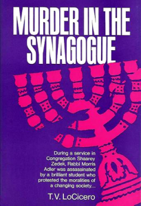 Murder in the Synagogue cover